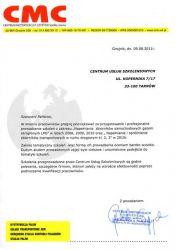 CMC_Gnojnik_referencje_dla_CUS_Tarnow
