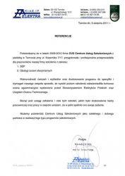 ELEKTRA_Tarnow_referencje_dla_CUS_Tarnow