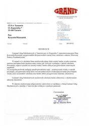 GRANIT_Brzesko_referencje_dla_CUS_Tarnow
