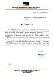 MWSE_Tarnow_referencje_dla_CUS_Tarnow